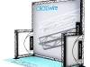 thumbs boothd 10x8front 10FT x 8FT Booths Banner, Poster, canvas printing