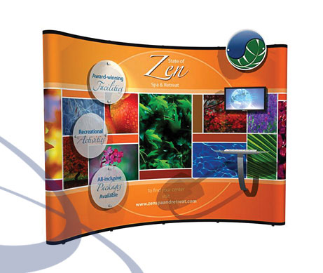 tradeshow Trade Shows Displays Tips Banner, Poster, canvas printing